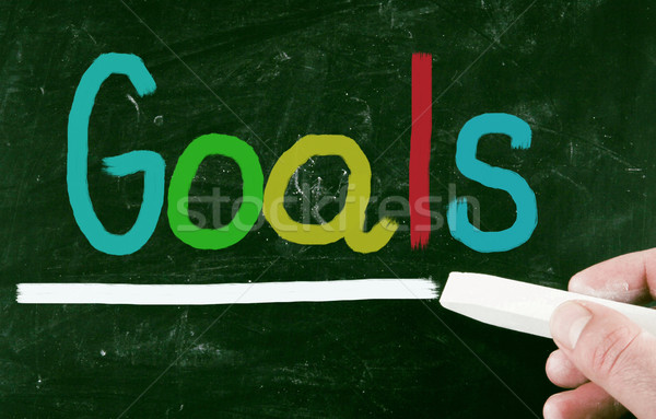 goals concept Stock photo © nenovbrothers