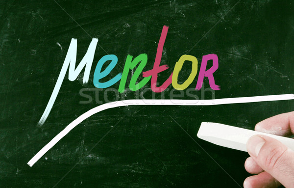 mentor concept Stock photo © nenovbrothers