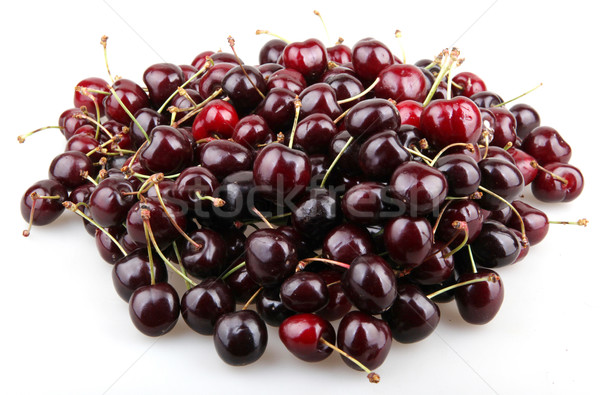 Cherries isolated on white Stock photo © nenovbrothers