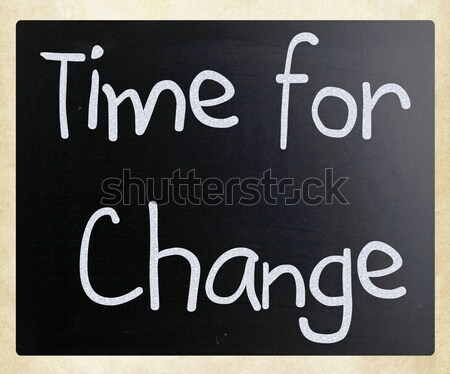 Time for change Stock photo © nenovbrothers