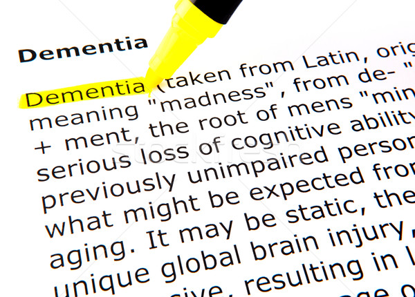 Dementia Stock photo © nenovbrothers