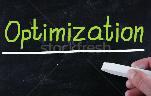 optimization concept Stock photo © nenovbrothers