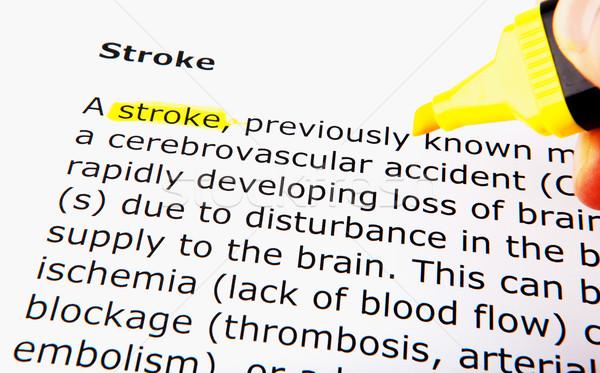 Stroke Stock photo © nenovbrothers