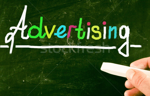 advertising concept Stock photo © nenovbrothers