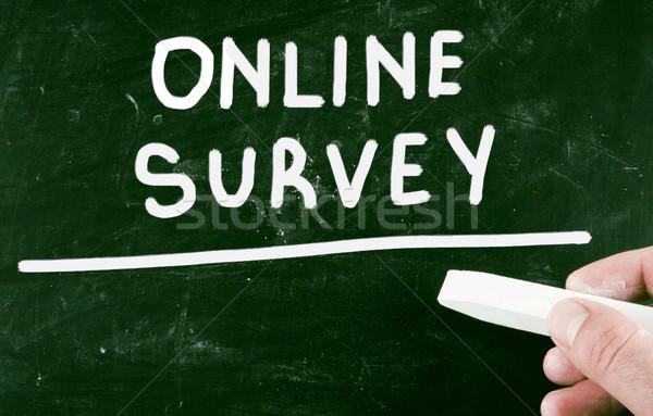 online survey Stock photo © nenovbrothers