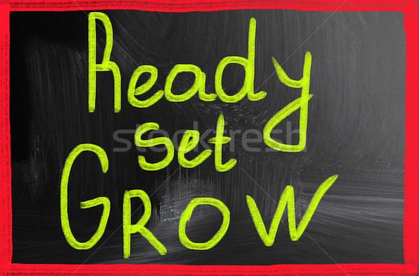 ready set grow Stock photo © nenovbrothers