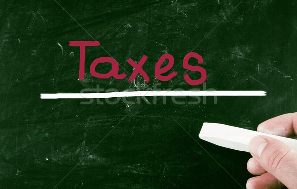 taxes concept Stock photo © nenovbrothers