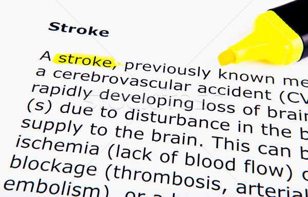 Stroke Stock photo © nenovbrothers