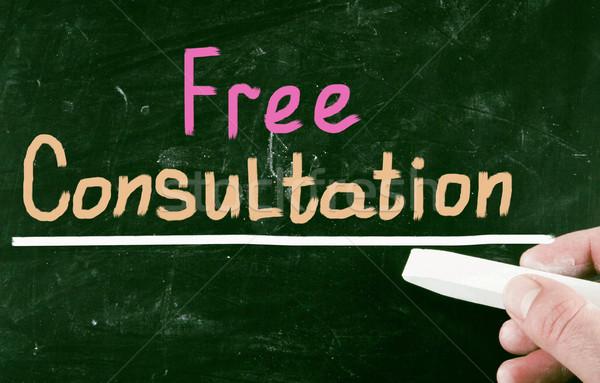 free consultation Stock photo © nenovbrothers