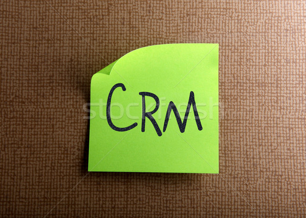 CRM Stock photo © nenovbrothers