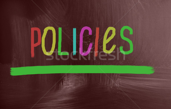policies concept Stock photo © nenovbrothers