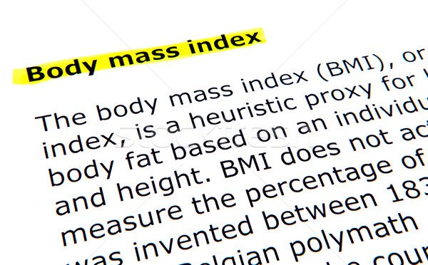 Body mass index (BMI) Stock photo © nenovbrothers