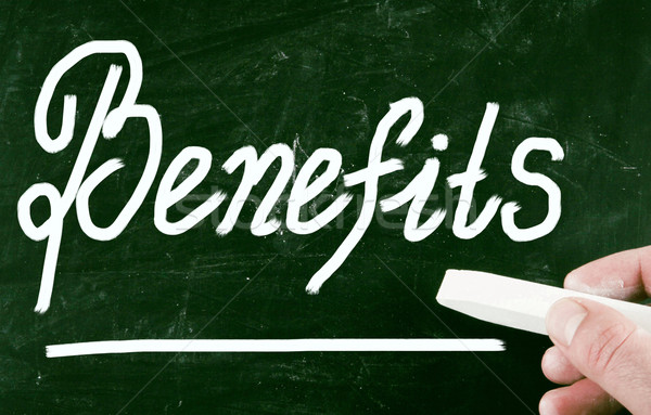 benefits concept Stock photo © nenovbrothers