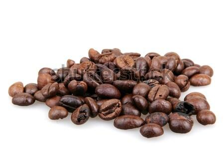 кофе изолированный белый продовольствие фон завтрак Сток-фото © nenovbrothers