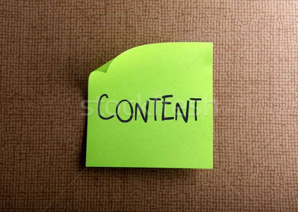 Content Stock photo © nenovbrothers