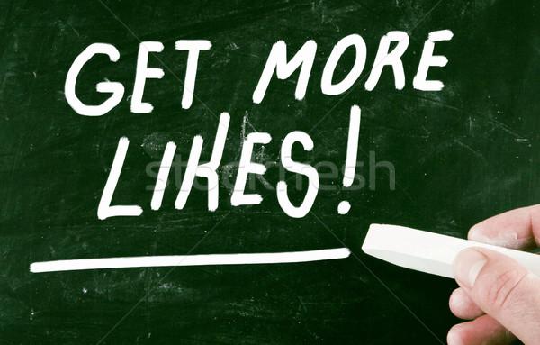 get more likes Stock photo © nenovbrothers