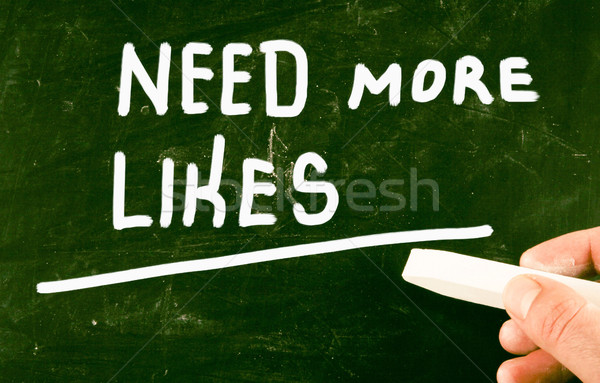 get more likes Stock photo © nenovbrothers