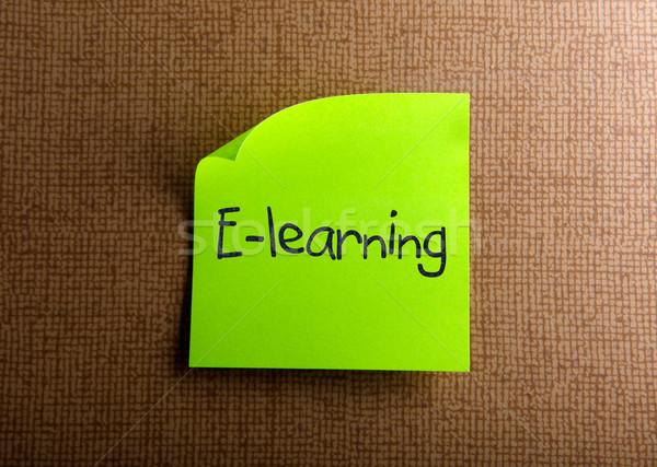 Online oktatás üzlet iroda modell keret osztályterem Stock fotó © nenovbrothers