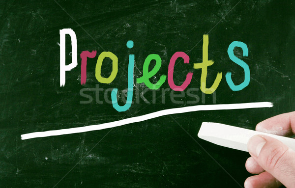 projects concept Stock photo © nenovbrothers