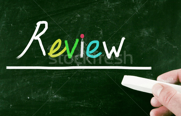 review concept Stock photo © nenovbrothers