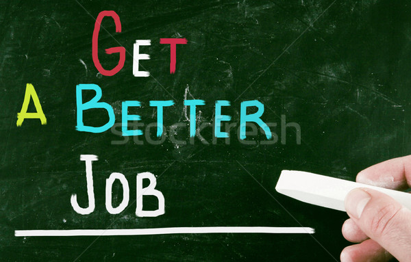 get a better job Stock photo © nenovbrothers
