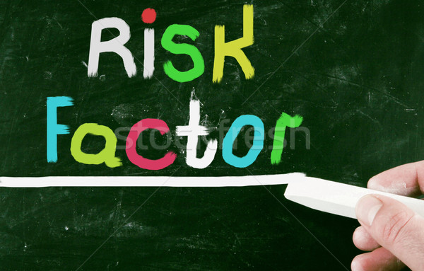 risk factor concept Stock photo © nenovbrothers