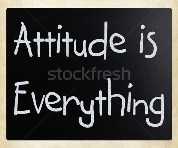 Attitude is Everything Stock photo © nenovbrothers