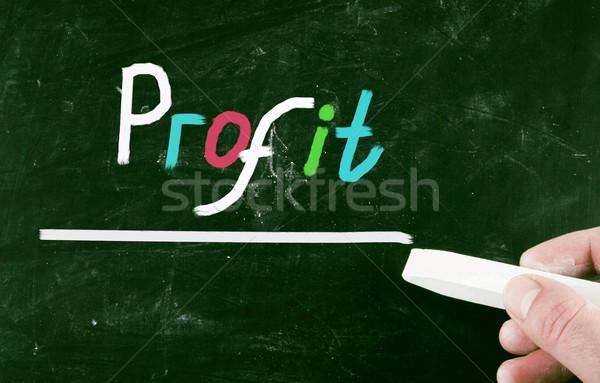 profit concept Stock photo © nenovbrothers