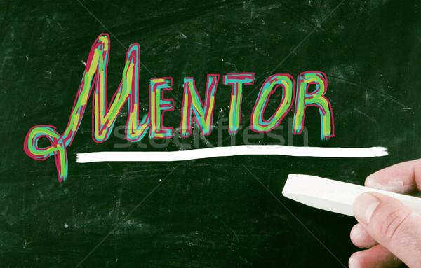 mentor concept Stock photo © nenovbrothers