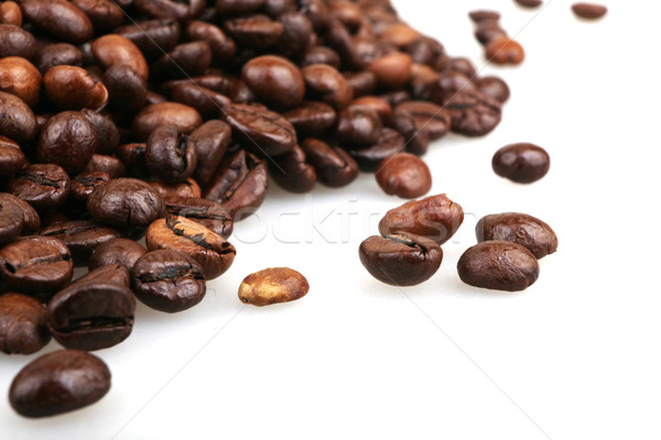 Coffee Beans isolated on white Stock photo © nenovbrothers