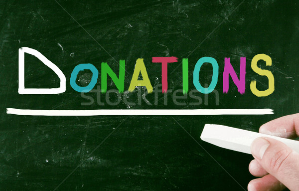 donations concept Stock photo © nenovbrothers