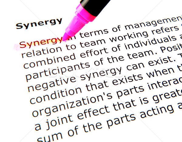 synergy Stock photo © nenovbrothers
