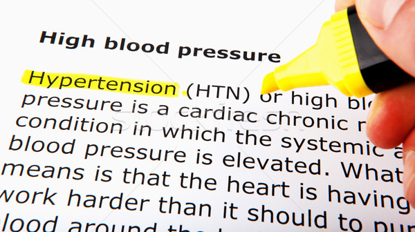 High blood pressure Stock photo © nenovbrothers