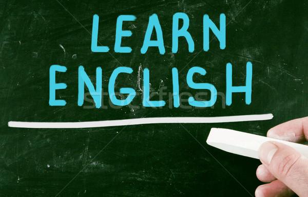 learn english Stock photo © nenovbrothers