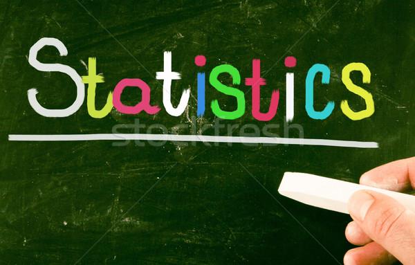 statistics concept Stock photo © nenovbrothers