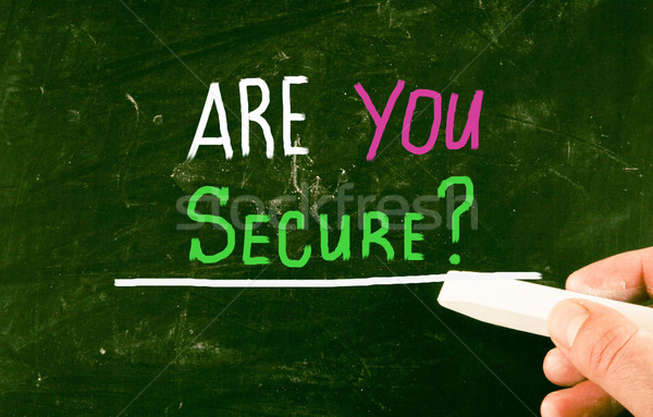 are you secure? Stock photo © nenovbrothers