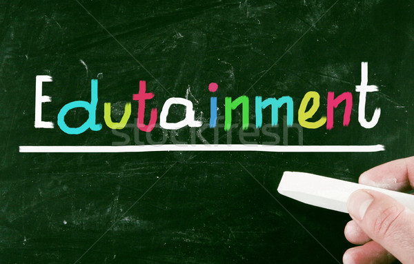 ストックフォト: 教育 · ビジネス · 教師 · おもちゃ · 訓練 · 再生