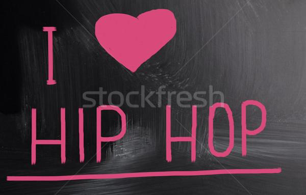 Amore hip hop musica radio concerto jazz Foto d'archivio © nenovbrothers