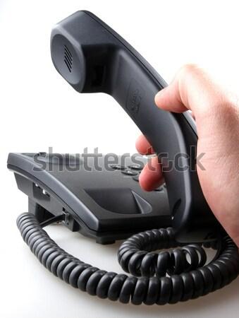 telephone isolated over white background Stock photo © nenovbrothers