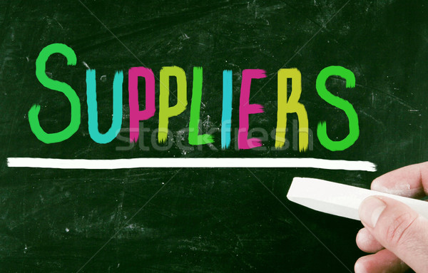 supplies concept Stock photo © nenovbrothers