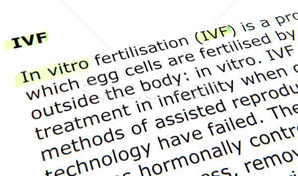In vitro fertilisation (IVF) Stock photo © nenovbrothers