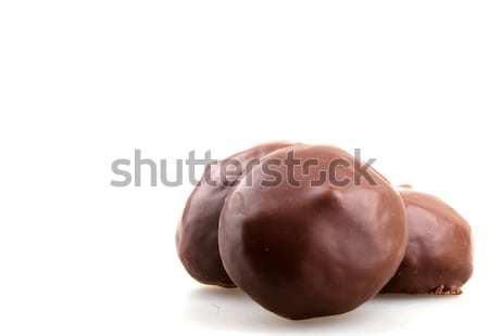 Chocolate doce branco Foto stock © nenovbrothers