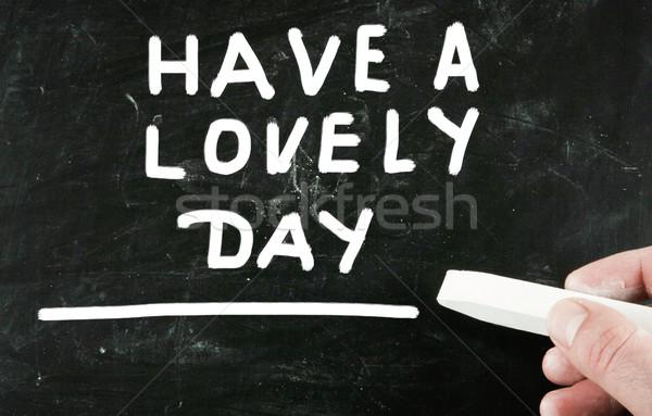 have a lovely day Stock photo © nenovbrothers