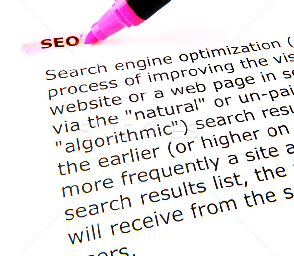 SEO Stock photo © nenovbrothers