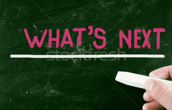 what's next concept Stock photo © nenovbrothers