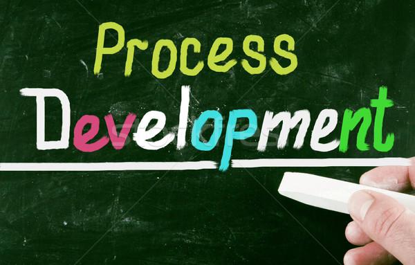 Processus développement éducation clé exécutif communication Photo stock © nenovbrothers