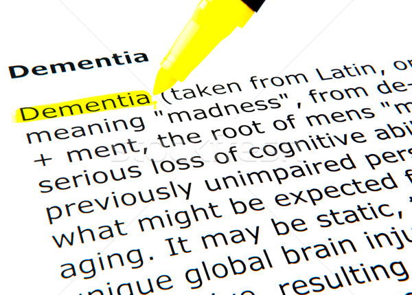 Dementia Stock photo © nenovbrothers