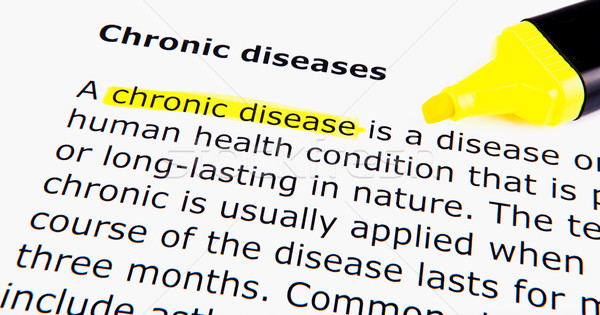 Chronic diseases Stock photo © nenovbrothers