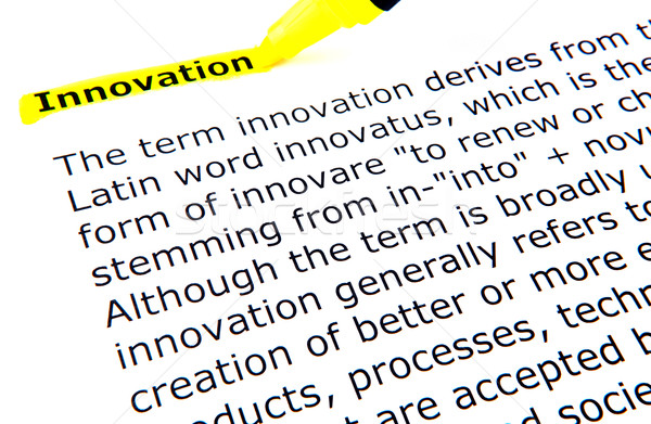 Innovation Stock photo © nenovbrothers
