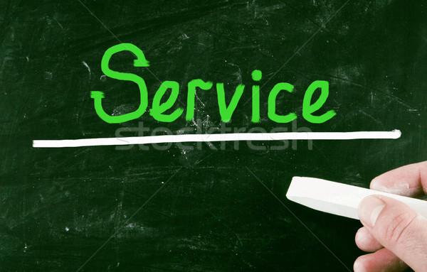 service concept Stock photo © nenovbrothers